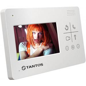 Монитор домофона LILU 4.3'' сенсор (белый)
